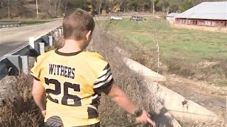 This Boy Was Ignored When He Saw A Shape Under A Bridge. But Then He Got Home And Called 911