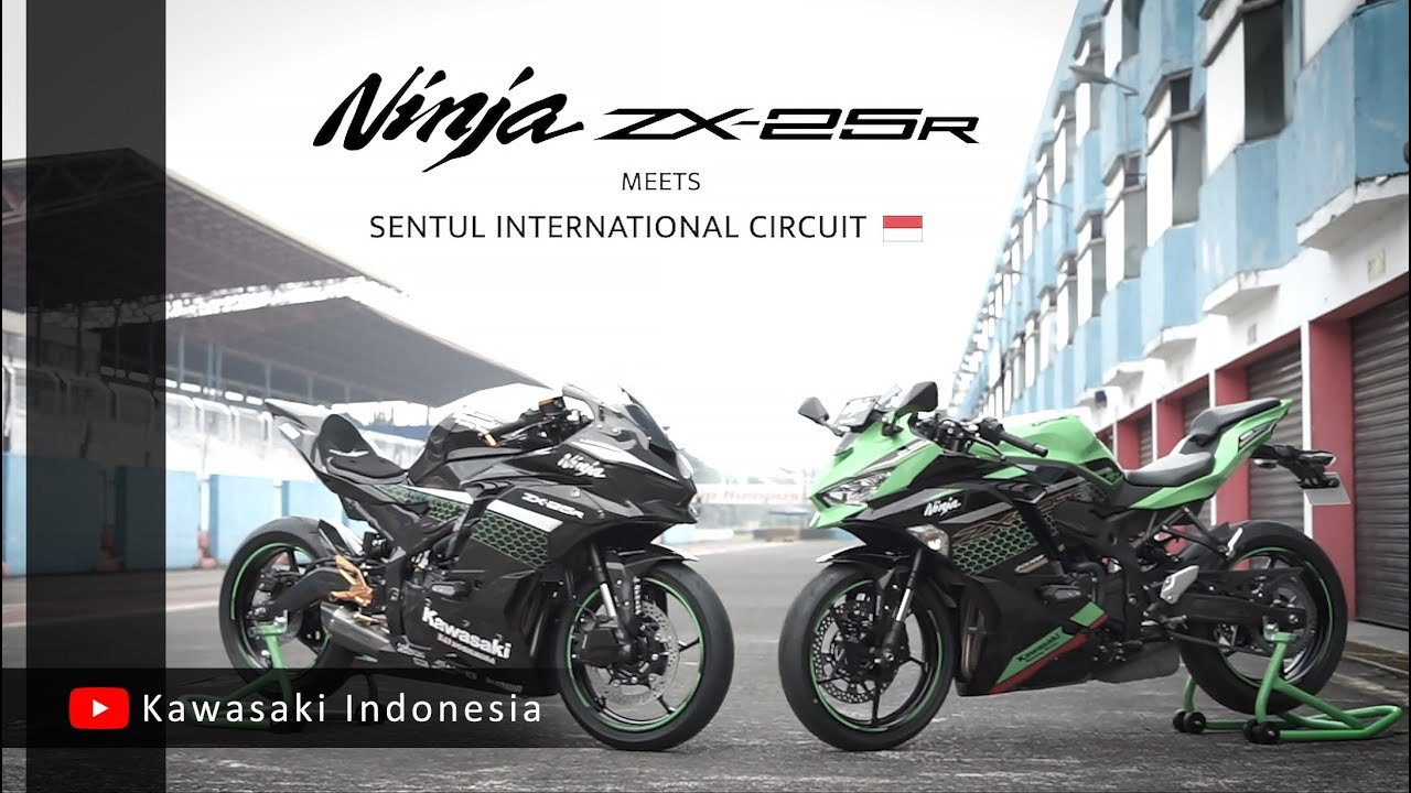 2 Kawasaki Ninja ZX-25R meets Sentul International Circuit