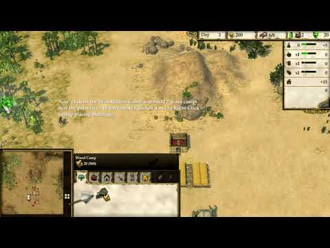 Stronghold Crusader 2 Tutorial Play |