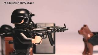 modernbrickwarfare mp5a3 smg review