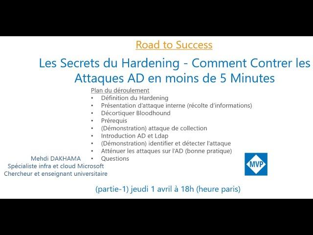 Les Secrets du Hardening - Comment Contrer les Attaques AD en moins de 5 Minutes