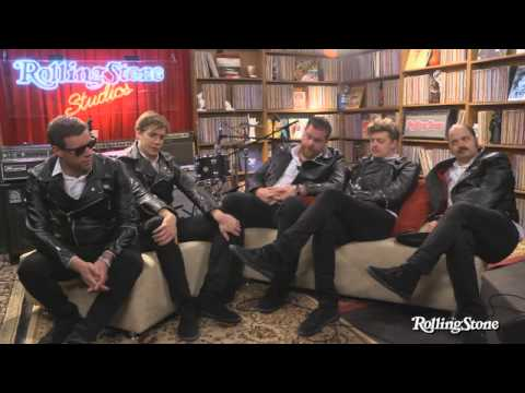 The Hives Rock the Rolling Stone Studio - Interview