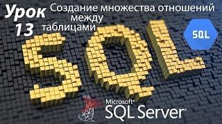SQL Урок 13 | Создание множества отношений между таблицами и нормализация БД | Для Начинающих