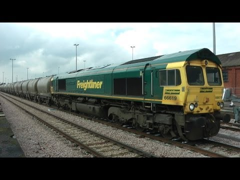 Freight At Acton Mainline Carpenders Park Larkhall Rise And Kensington Olympia 18-23 3 2013