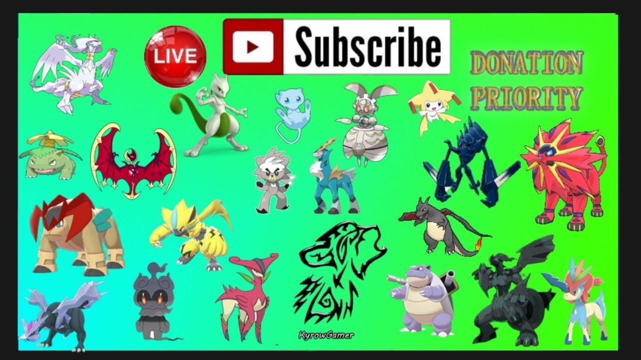 🔴 Pokémon Sword and Shield Live Stream 🔴 POKEMON ⚔️ & 🛡️//◾KyrowGamer◾.  - YouTube