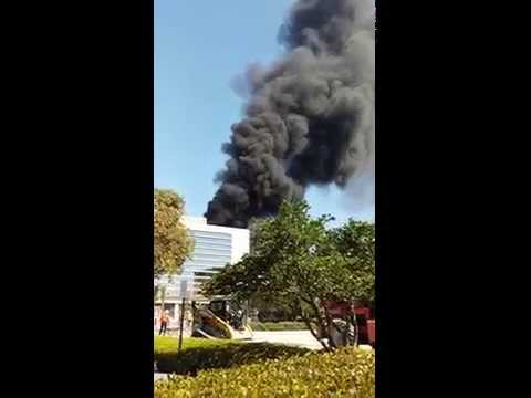fire at cleveland clinic