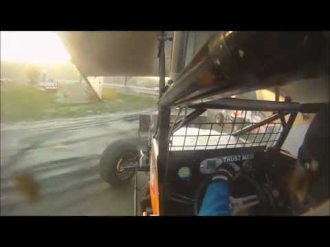 Dan Douville In-Car SCoNE Heat + Feature at Canaan Dirt Speedway 5-18-2012