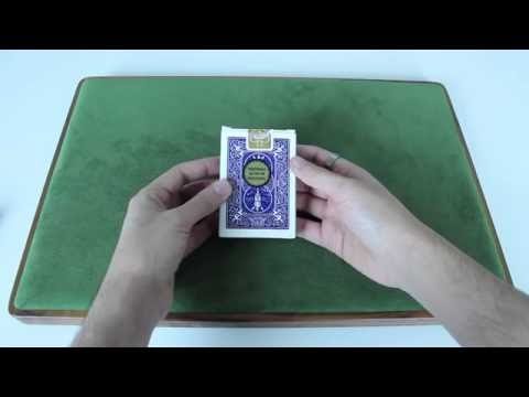Deck Review - Bicycle GOLD LABEL Playing Cards [HD]
