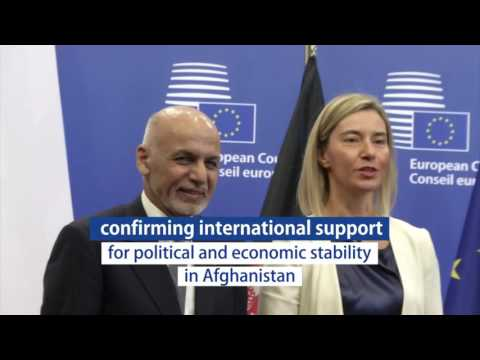 International community pledges support for Afghanistan