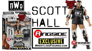 nwo scott hall ringside collectibles exclusive wwe toy wrestling figure by mattel