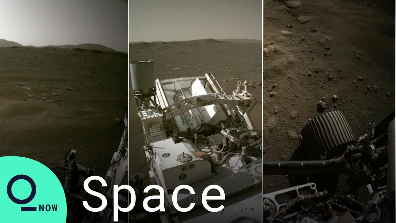 NASA Unveils Latest Images, Sound From Mars Perseverance Rover
