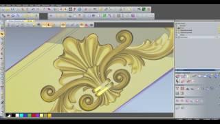 уП в ArtCAM 2011  для фрезировки по  3d модели в с учетом контура модели