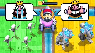 PRO vs NOOB Clan Wars 2.0 in Clash Royale!