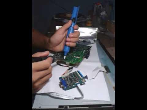 Cara Memperbaiki Monitor Lcd Mati Total Acer G195hqv Part 1 Youtube