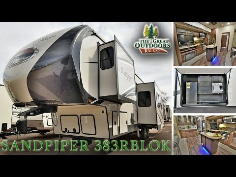 2017 FOREST RIVER SANDPIPER 383RBLOK S115 Colorado Dealer RV Sales