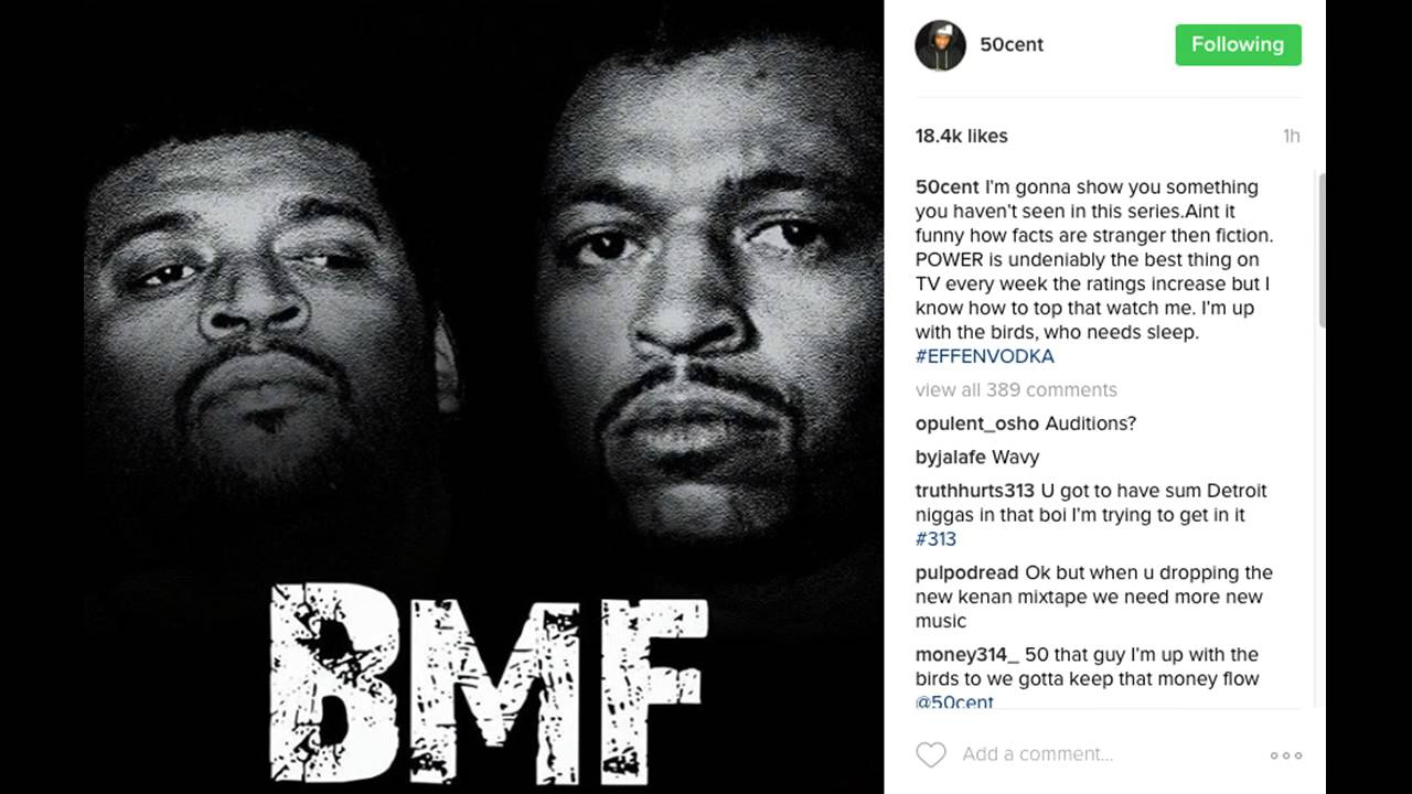 50 Cent Reacts To Beef Over Bmf Tv Series