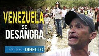 Venezuela se desangra en la frontera - Testigo Directo HD