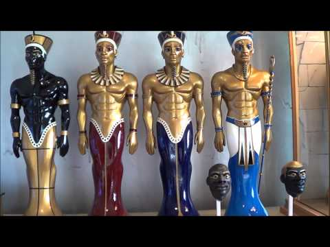 my egyptian statues