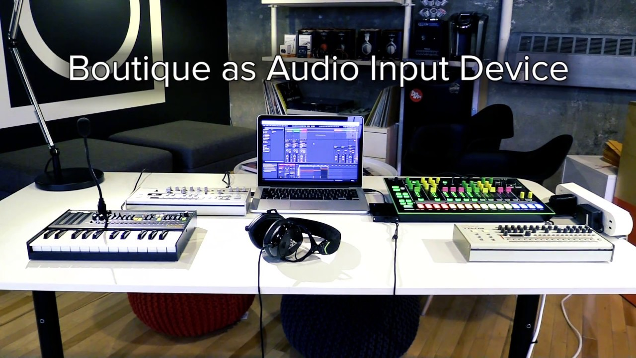 Using your Roland Boutique with Ableton Live - Roland Australia