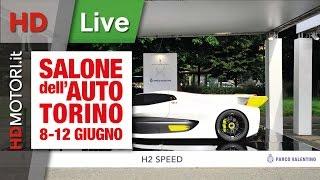 HDmotori.it al Salone di Torino | Pininfarina BMW Gran Lusso e H2 Speed
