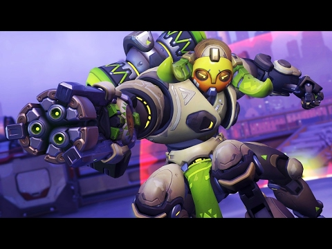Thumbnail: Overwatch: 4 Minutes of Orisa Gameplay (1080p 60fps)