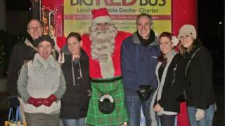 Christmas Lights Tour on the Big Red Bus!