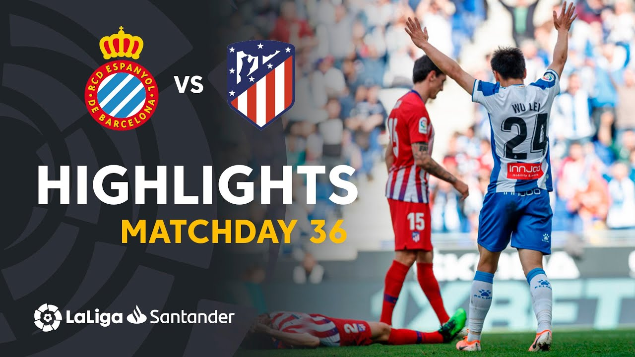 Highlights Rcd Espanyol Vs Atlético De Madrid 3 0 Youtube
