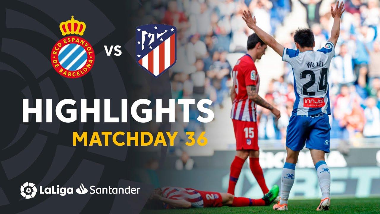 Highlights Rcd Espanyol Vs Atlético De Madrid 3 0 Youtube