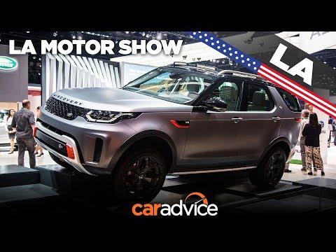 2018 Land Rover Discovery SVX: LA Auto Show