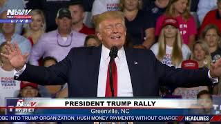 FULL RALLY: President Trump Rally in Greenville, North Carolina