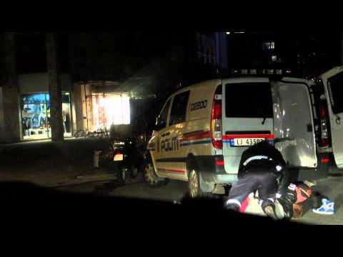 Police vs drunk kid -  Politiet i Bodø - 1080p