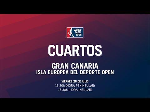 Cuartos de Final Masculinos Gran Canaria Isla Europea del Deporte Open 2017   World Padel Tour
