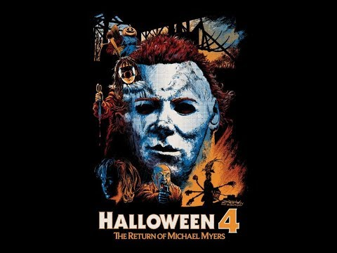 Halloween 4 the Return of Michael Myers movie vlog