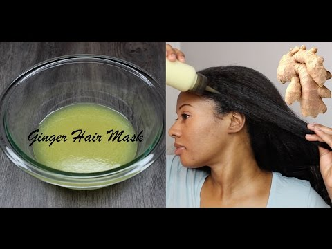 GINGER ROOT HAIR MASK | EXTREME HAIR GROWTH