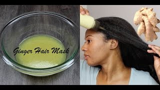 EXTREME HAIR GROWTH | GINGER HAIR MASK