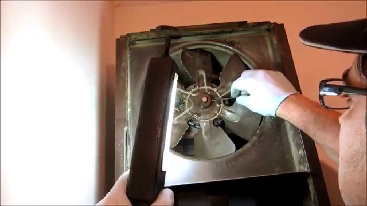 small resolution of old williams wall furnace fan assemble worked on