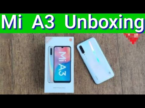 Mi A3 Unboxing and Review.|All Rounder SAAB Tech |