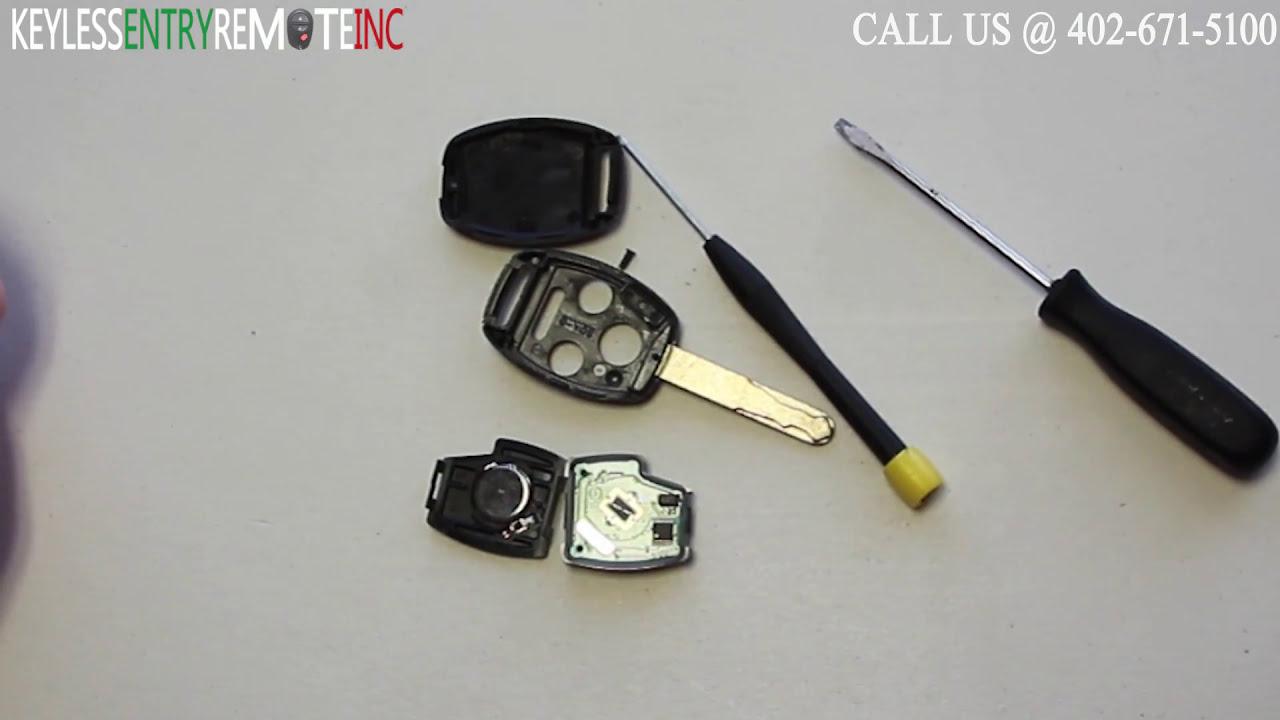 How To Replace A Honda CR-V Key Fob Battery 2007-2013