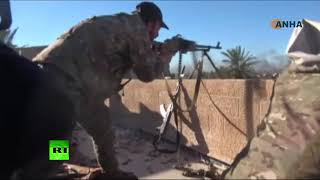 Fight against ISIS continues in Baghouz as SDF forces are slowed down by mines & tunnels
