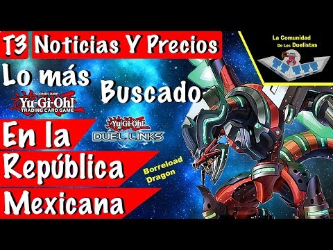 Yu-Gi-Oh! Noticias y Lo más buscado en la República Mexicana del 2 al 8 de Diciembre del 2017