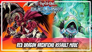 Red Dragon Archfiend Assault Mode [ Structure Deck EX King's Resonance ] [ Yu-Gi-Oh! Duel Links ]