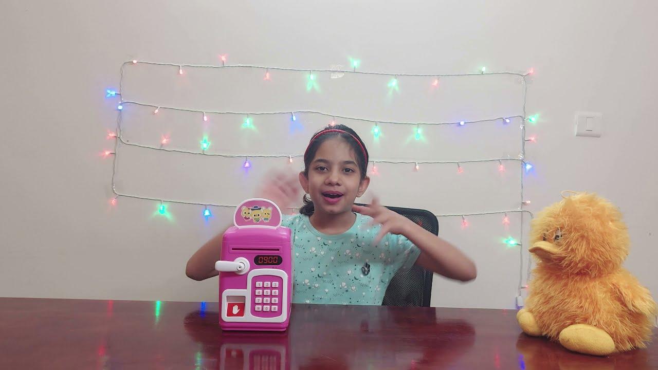 बच्चों के खेलने वाले खिलौने | सेविंग बॉक्स बचत गुल्लक | बच्चों के खेल खिलौने - जानवीस वर्ल्ड
