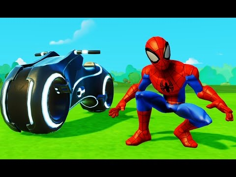 Человек-паук мультфильм -игра для мальчиков