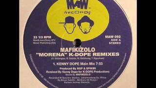 mafikizolo morena kenny dope main mix