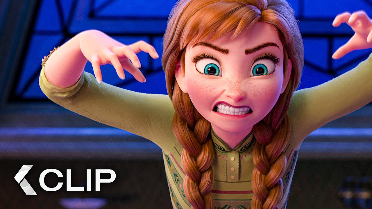 Playing Charades Scene Frozen 2 2019 Youtube