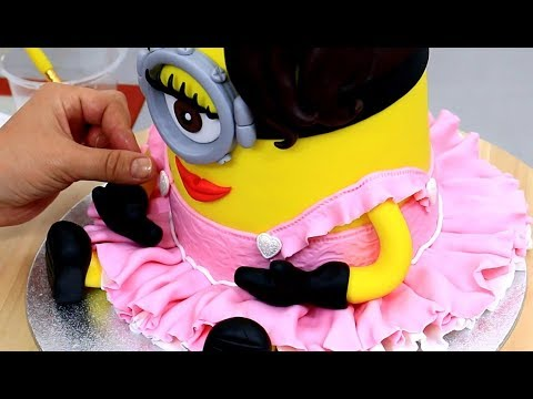 The Most MAGICAL FAIRY Princess In The World | MINION CAKE by Cakes StepbyStep