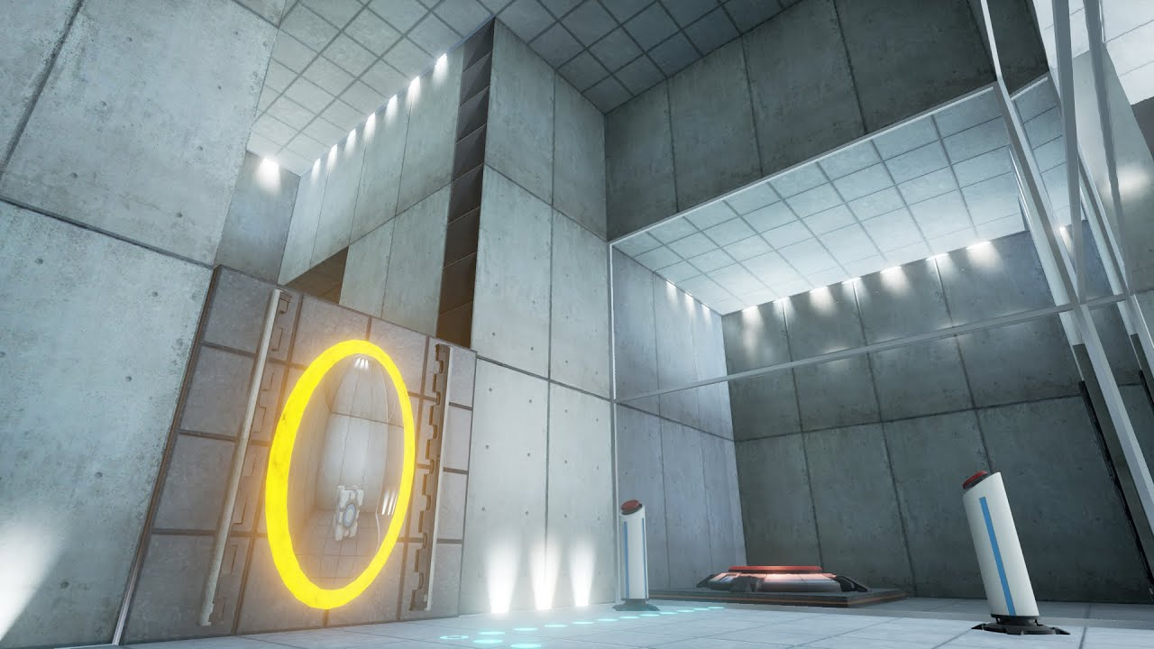 Portal level recreation unreal engine forums portal level recreation malvernweather Gallery