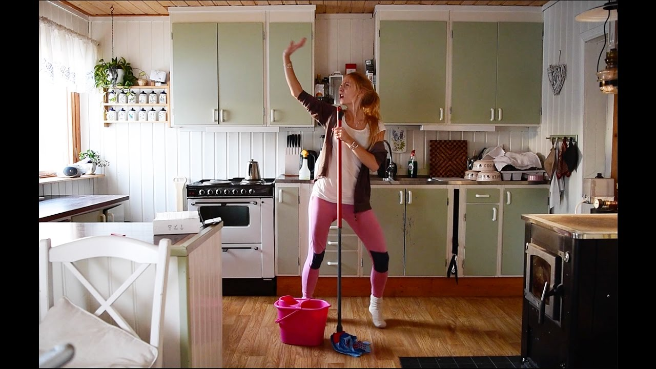 Cleaning The House cleaning the house á la jonna - youtube