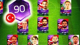 EN İYİ TÜRKİYE KADROSUNDA 90 GEN OLDUM !!! Fifa Mobile