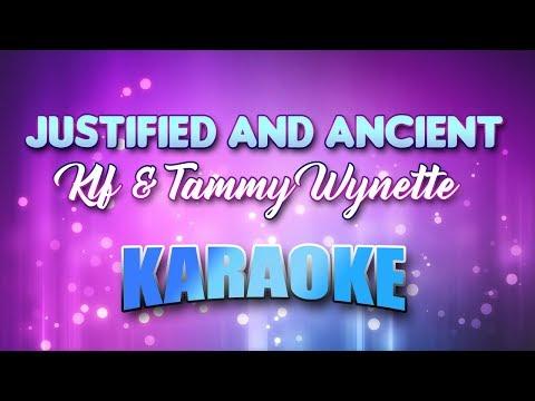 Klf & Tammy Wynette - Justified & Ancient (Karaoke version with Lyrics)